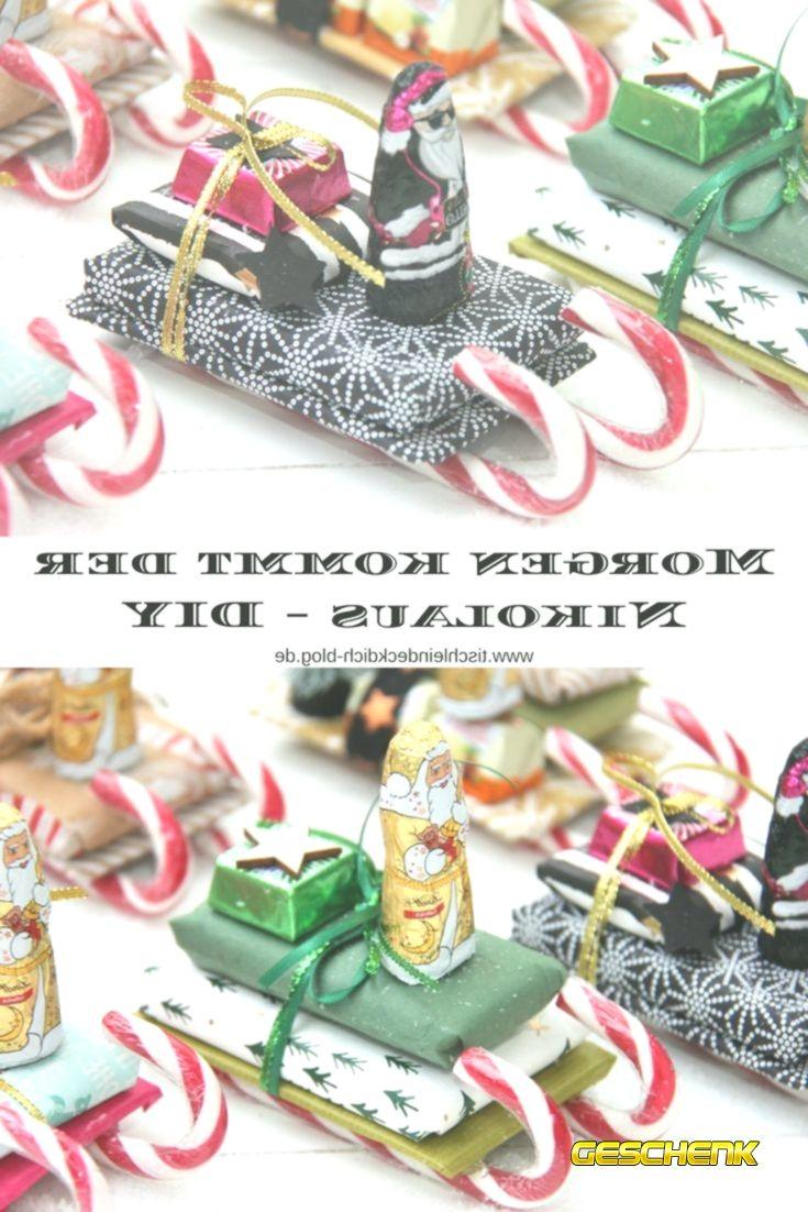 Geschenkideen Weihnachten Susses Diy Zum Nikolaustag Kleine
