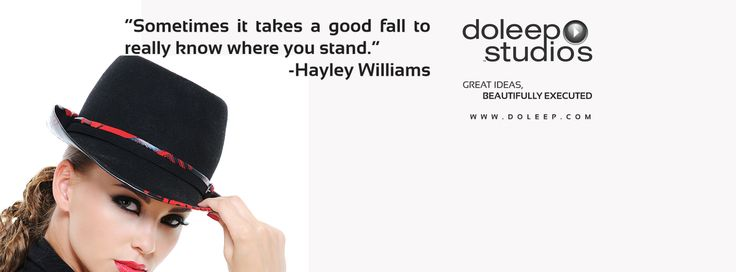 """Sometimes it takes a good fall to really know where you stand.""     -Hayley Williams Good Morning, Doleep Studios wish you a successful and fulfilling day.. #goodmorning #success #dubai #abudhabi #uae #quality #happy #motivation #inspiration #inspirationalquotes #domore #passion #achieve #production  #mediaproduction #doleepstudios"