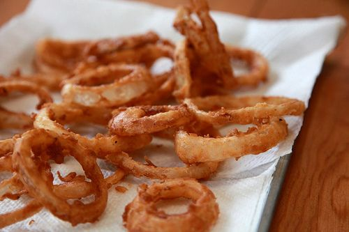 Barbecue Buttermilk Onion Rings