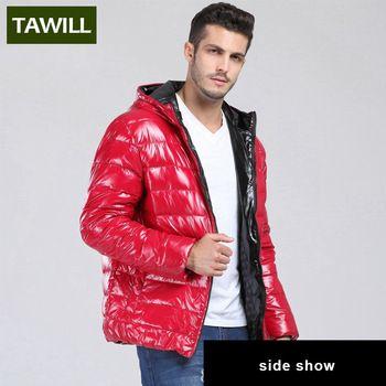 TAWILL Merk 2016 Nieuwe Mode eendendons winterjas Mannen Fall Winter Casual Jassen merk kleding JSY128 4