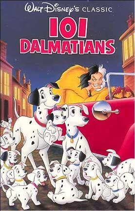 *101 DALMATIANS, 1961