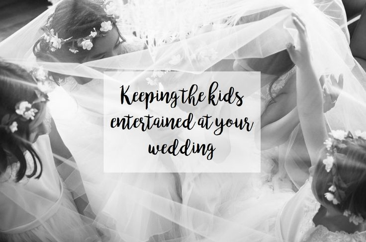 | Keeping the kids entertained at your wedding |