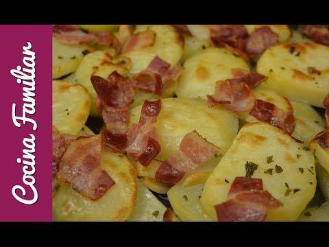 Patatas al ajillo con beicon | Cocina