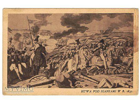 Duże zdjęcie Bitwa pod Iganiami w r.1831.