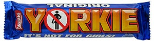 Yorkie (chocolate bar) - Wikipedia, the free encyclopedia