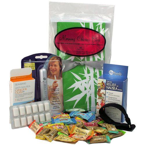 Nausea Comfort Kit  - a medley of morning sickness products: Gift Ideas, Sickness Products, Morning Sickness, Nausea Comfort, Baby Girl, Mom To Be Gifts, Mornings