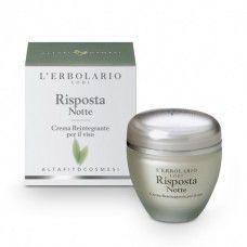 Risposta rekonstruáló éjszakai arckrém - Rendeld meg online! Lerbolario Naturkozmetikumok http://lerbolario-naturkozmetikumok.hu/kategoriak/arcapolas/risposta-fitokozmetikumok