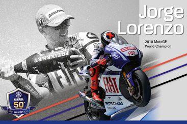 Jorge Lorenzo - Campione del mondo della #MotoGP nel 2010 e nel 2012