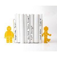 """Держатели для книг """"Lego Man"""" http://zapisky.com.ua/derzhateli-dlya-knig/dergateli-dlya-knig-lego-man"""