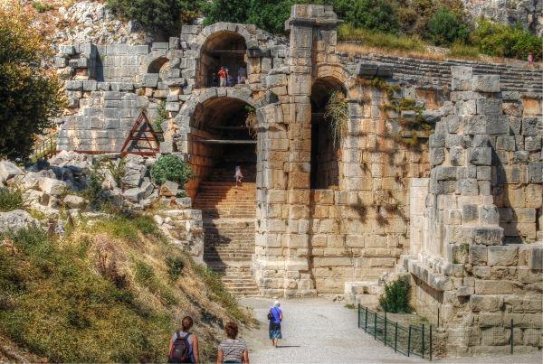 Ruins of Myra in the Antalya region of Turkey #antalya #turkey