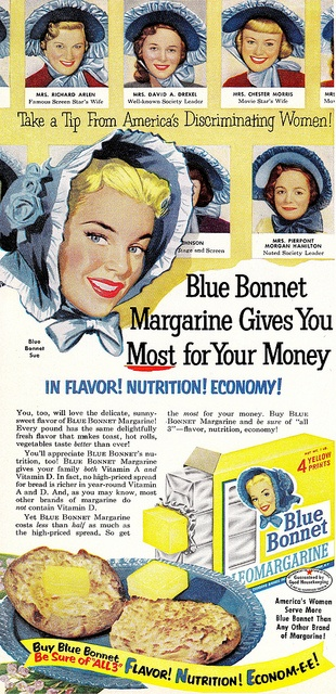 Blue Bonnet Sue and Her Sisters by saltycotton, via Flickr