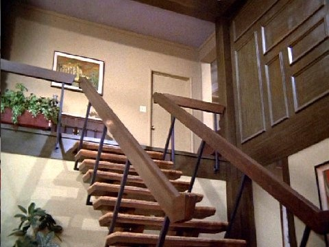 Sometimes The Bradys Were Cool   The Brady Bunch Staircase