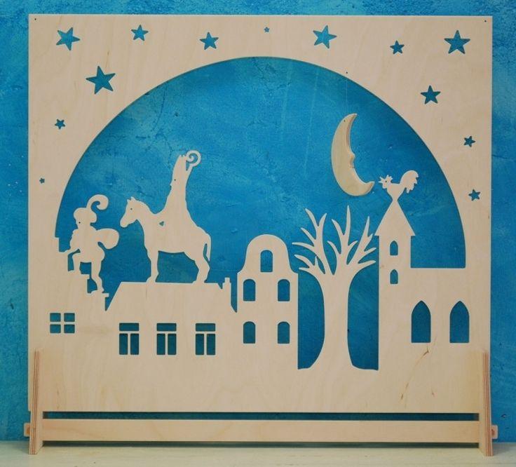 7117  Decoratie groot Sinterklaas  (VE 1)