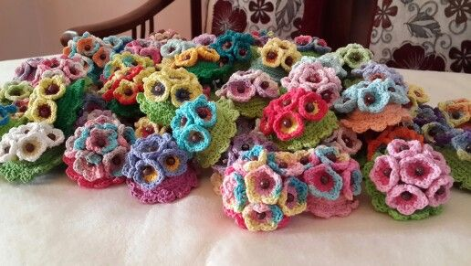 Crochet Brouch