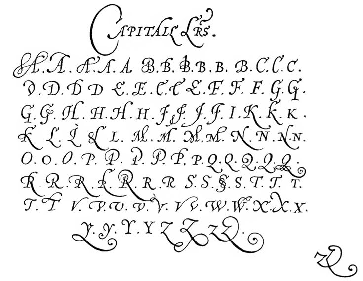 177 Best Images About Chancery Cursive On Pinterest
