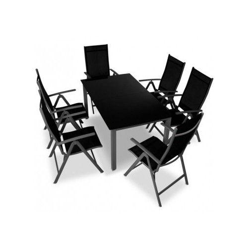 Alumiini 6 tuolia ja pöytä, 449,95€.Tämä ruokailuryhmä sopii mihin sen ikinä keksitkään sijoittaa, alumiinirunko ei ruostu ja polyesterikuitu kestää säätä Tuolit varastoituvat pieneen tilaan helposti ja nopeasti taittomekanismin ansiosta. Ilmainen toimitus! #tuoli #pöytä #alumiinituoli #alumiinipöytä