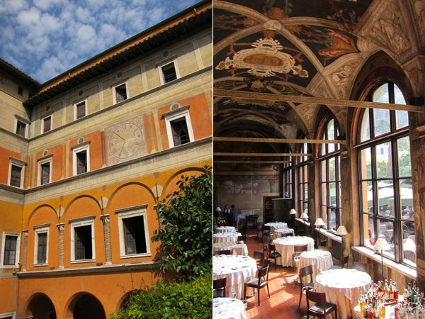 The Hotel Columbus  Once a medieval monastery next to the Vatican gates, it has been converted into an atmospheric hotel.  #JetsetterCurator