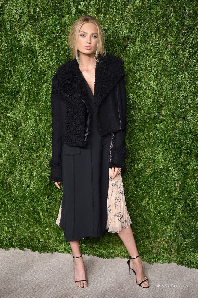 Майкл Корс, Карли Клосс, Оливия Манн и другие знаменитости на модной премии CFDA/Vogue Fashion Fund Awards 2016 в Нью-Йорке.