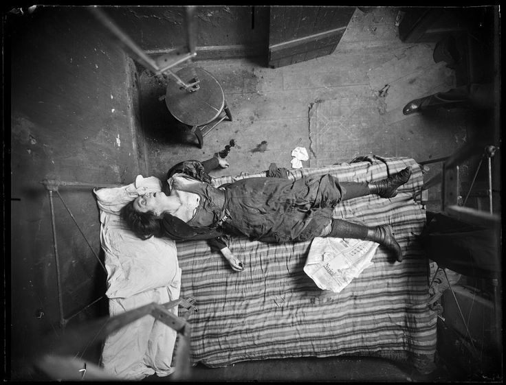 Grisly Murder Scene Photos from 1910s New York