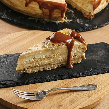Salted caramel and banana cheesecake - from Lakeland