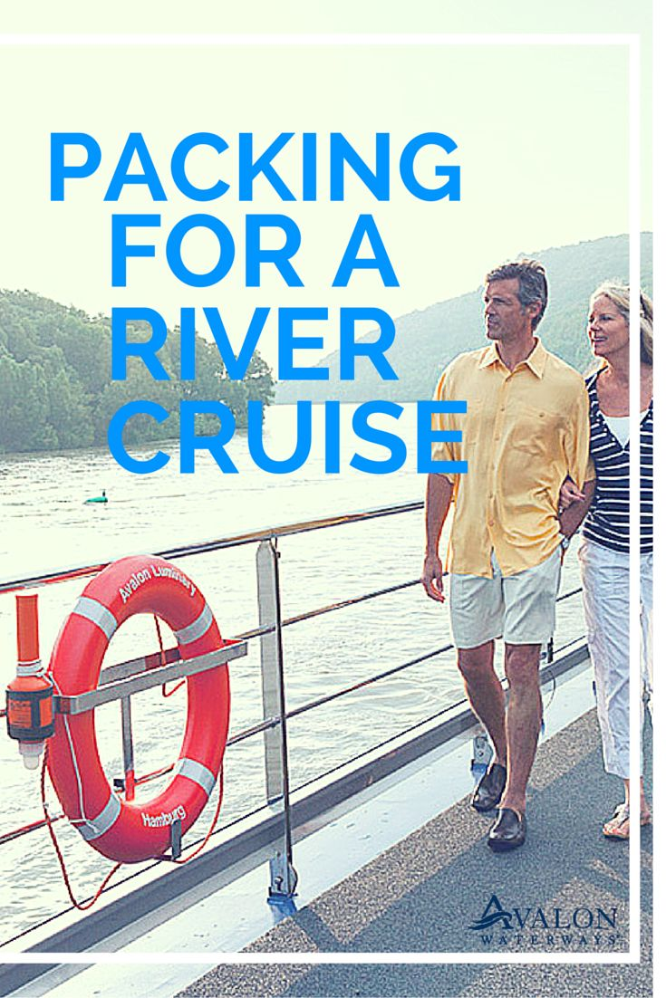Planning for a river cruise? Packing can be a pain - make it easy with these tips and tricks for river cruise packing.