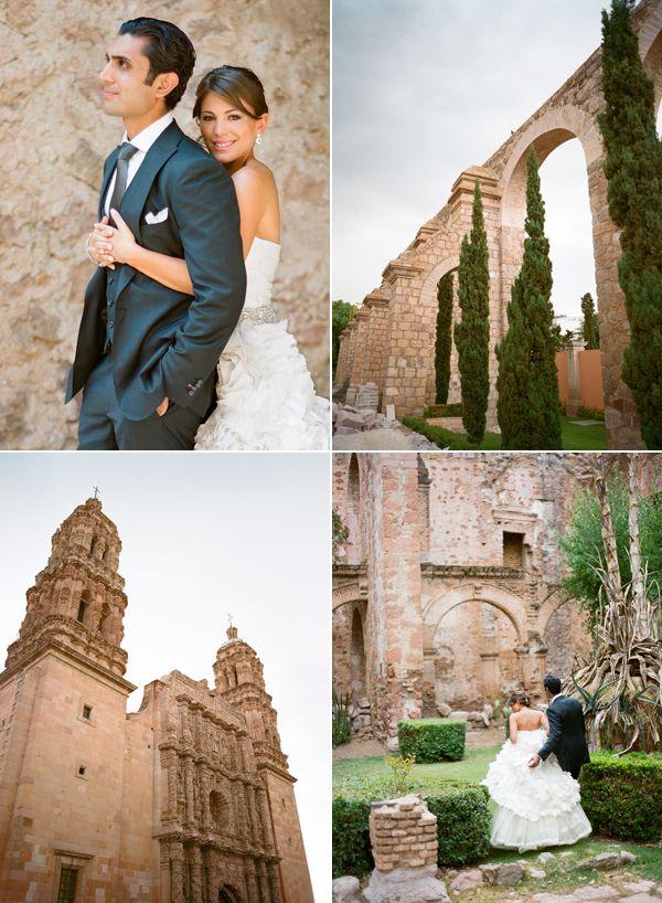 Zacatecas wedding shots.