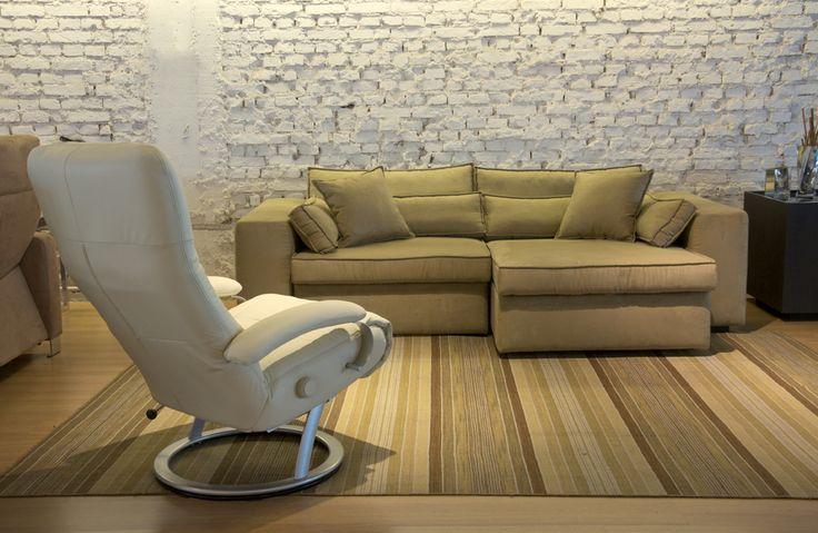 Sofá retrátil Lounge