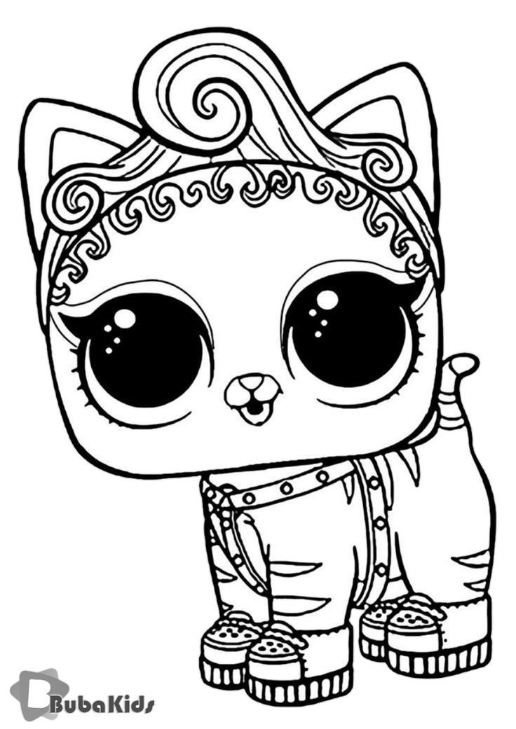 L.O.L Purr Baby – high-quality free coloring from the category ...