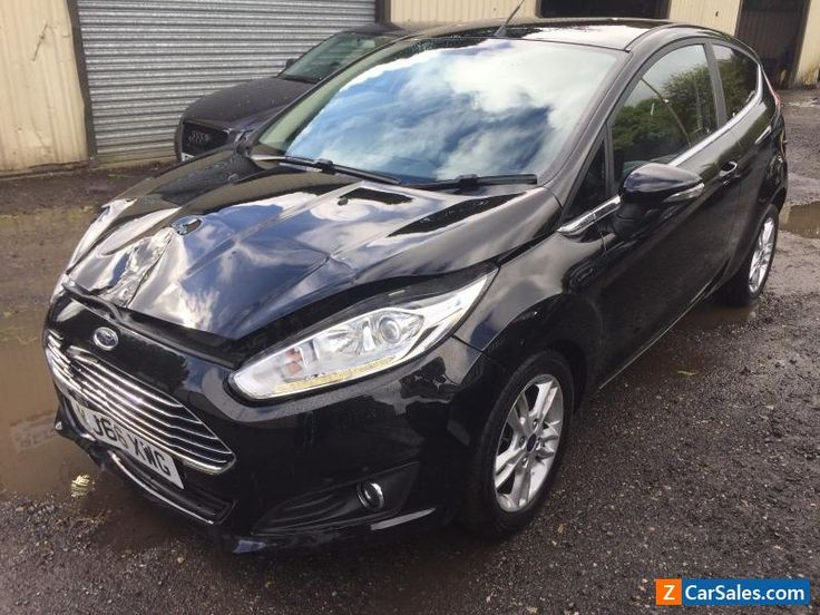 2016 FORD FIESTA 1.25 ZETEC 3DR ACCIDENT DAMAGED / SPARES / REPAIR / NON RUNNER #ford #fiesta #forsale #unitedkingdom