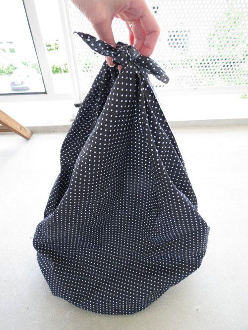 Tuto sac furoshiki