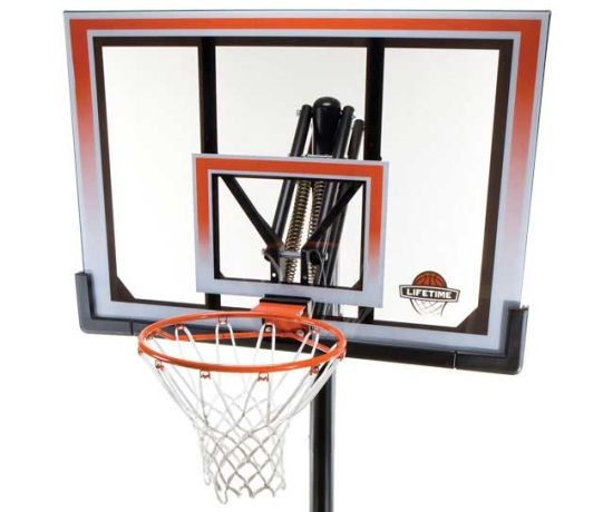 Lifetime Portable Basketball Hoop 71566 50 in. Backboard System
