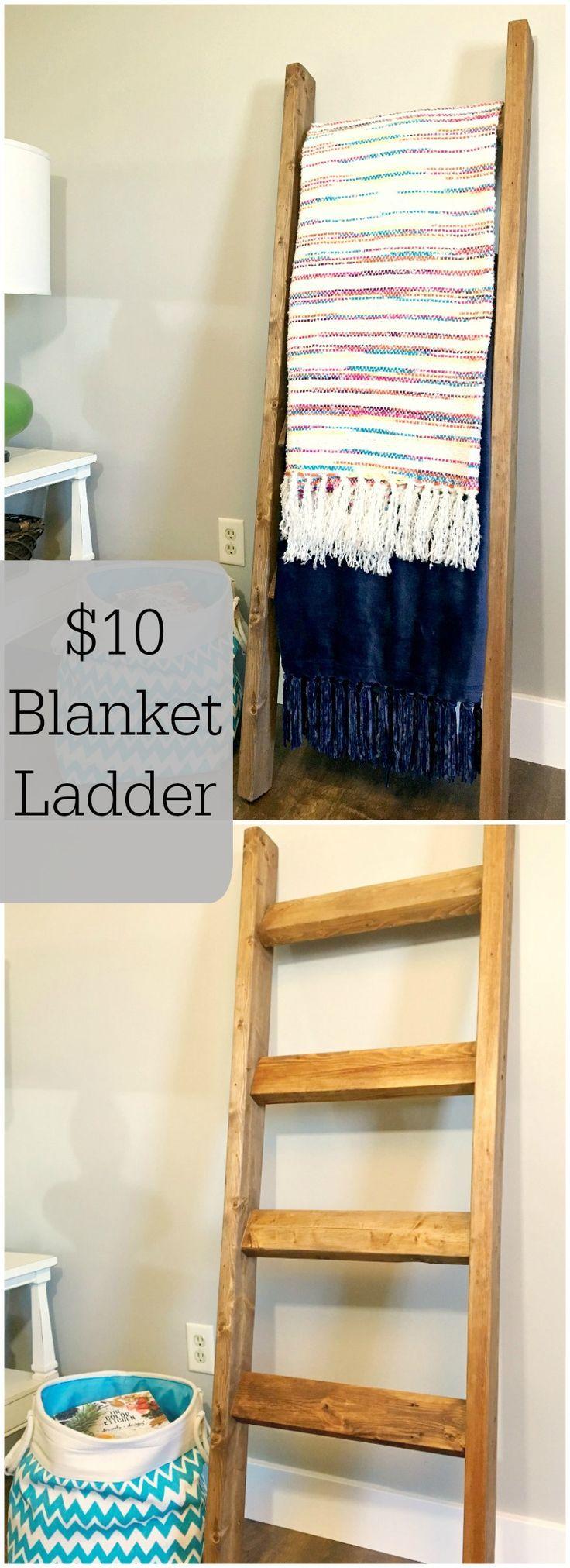 best 25 blanket ladder ideas on pinterest diy blanket. Black Bedroom Furniture Sets. Home Design Ideas