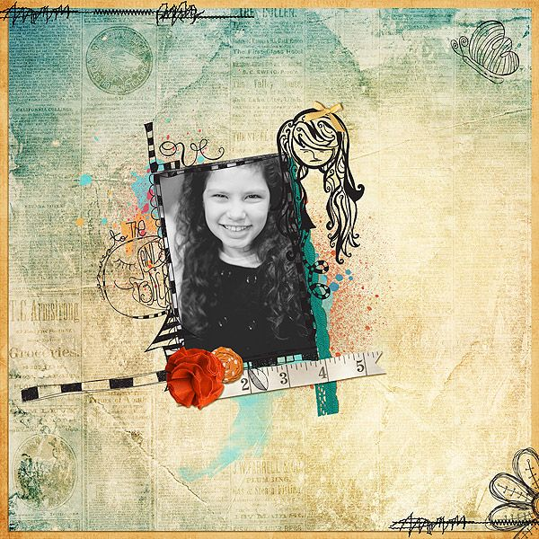 #emilly => Free as a bird (doodles!)  Its a wild wild world kit | A for awesome kit | I love Rock and Rol kit | After the rain kit - All by Little Butterfly Wings | Scrapbook designs - Valéria Piemonte - The Lilypad