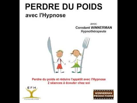 Hypnose pour perdre du poids et réduire l'appétit