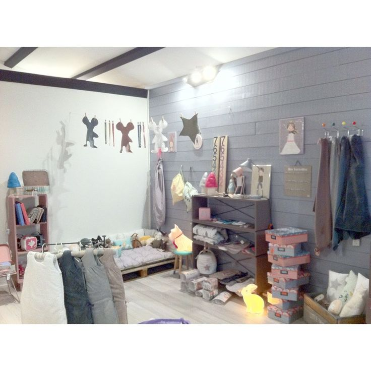 Nine & Toine boutique, la déco kids comme on l'aime. La Flotte, Charente-Maritime, southwestern France.