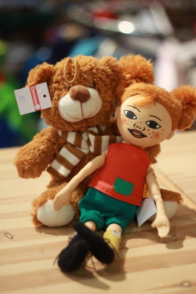 Leksaker, björn, Pippi
