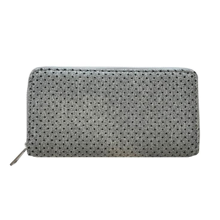 Punch | Neoprene Wallet in Marle Grey
