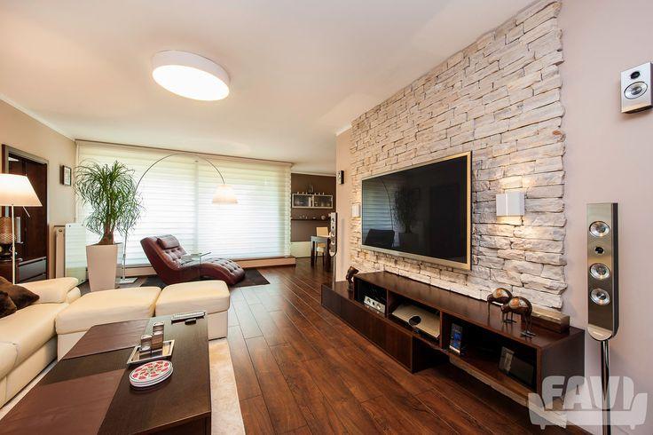 Moderní obývací pokoje inspirace - Rekonstrukce bytu, Praha Jinonice | Favi.cz