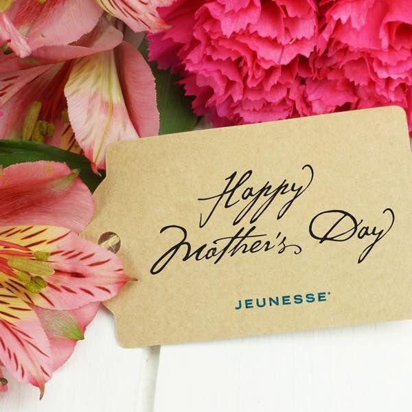 Happy #Mother's Day to all the hard working Moms in our #Jeunesse family. Today we celebrate you!
