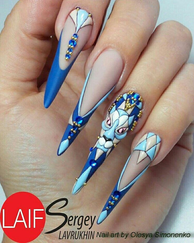 Long Stiletto Nail Art: 1000+ Ideas About Long Gel Nails On Pinterest