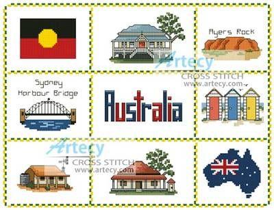 44 Best Images About Cross Stitch On Pinterest  Australia