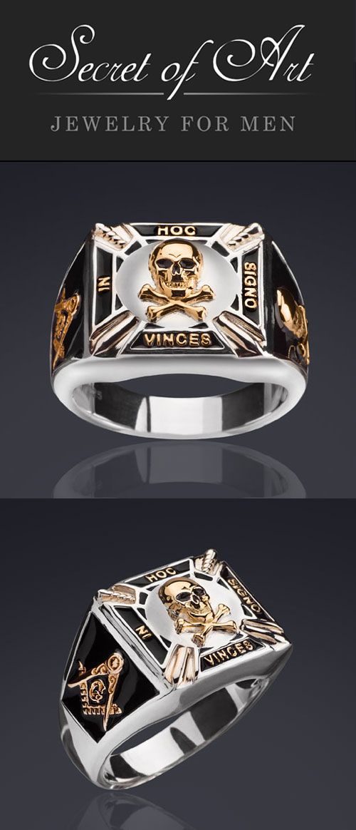 110 best Masonic Rings from Secret of Art in high quality ...