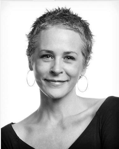 Melissa McBride. I like her hair and spunky face! She's lovely.