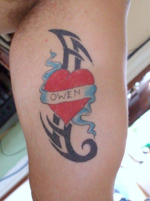 99 best images about heart tattoos for men on pinterest. Black Bedroom Furniture Sets. Home Design Ideas