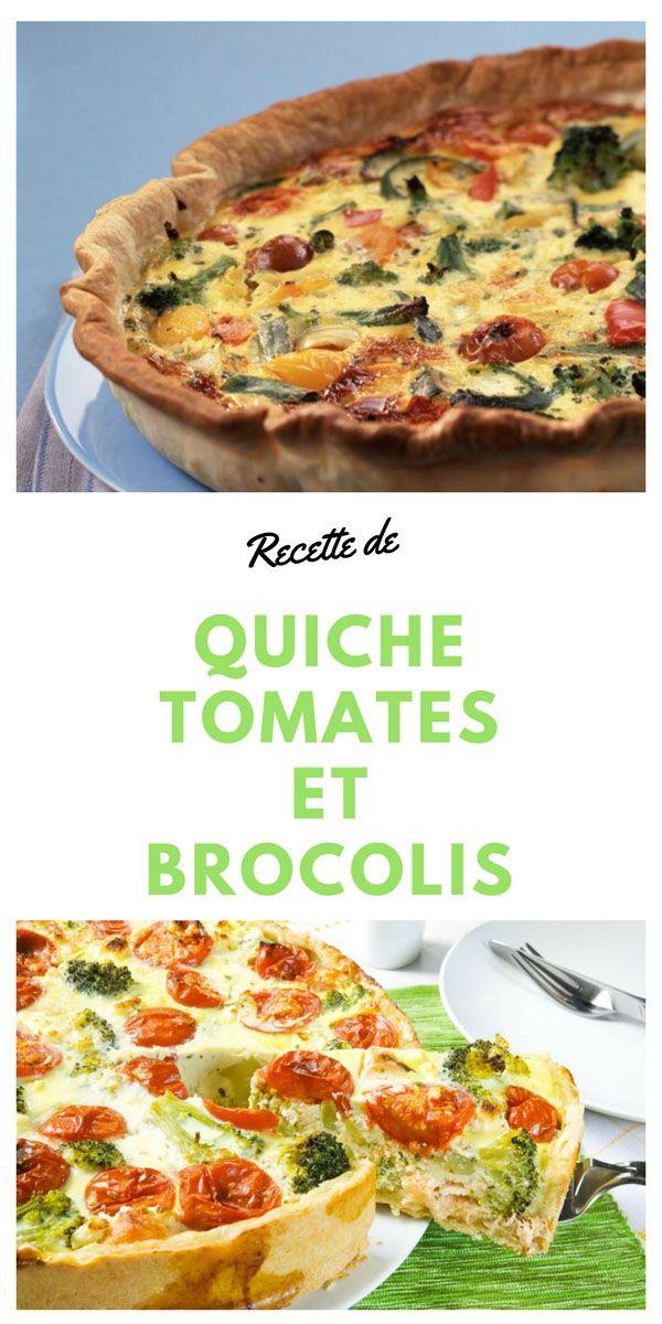 #quiche #tomate #brocoli