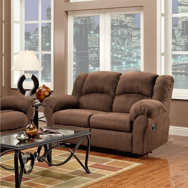 Modern Sofa Forte Three Piece Living Set Sofa Loveseat Recliner Indoor Living Pinterest Loveseat recliners Recliner and Third