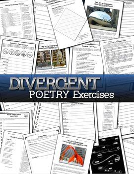 #Divergent #Poetry: Creative Writing & Close Reading Activities for Veronica Roth's trilogy