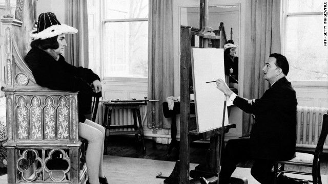 Richard III has been played by a host of stars, including Laurence Olivier, here being painted by Salvador Dali.