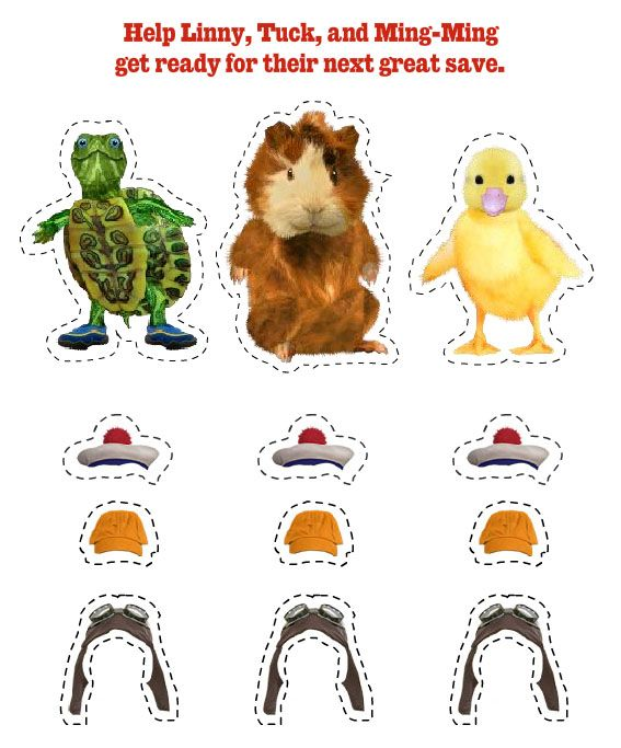 Wonder Pets Cut-Out Characters--great for parties