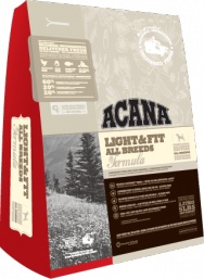 ACANA Light & Fit  For overweight dogs or those prone to weight gain